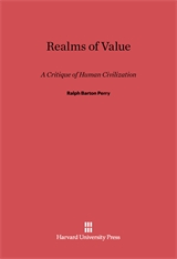 Cover: Realms of Value: A Critique of Human Civilization
