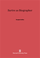 Cover: Sartre as Biographer in E-DITION