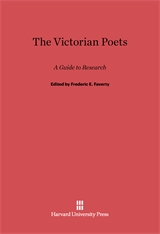 Cover: The Victorian Poets: A Guide to Research, Second edition