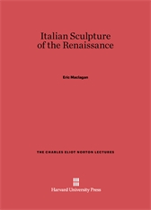 Cover: Italian Sculpture of the Renaissance