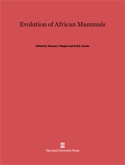 Cover: Evolution of African Mammals