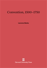 Cover: Convention, 1500–1750