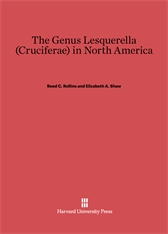Cover: The Genus Lesquerella (Cruciferae) in North America