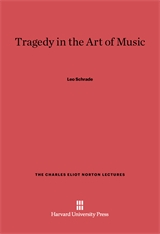 Cover: Tragedy in the Art of Music in E-DITION
