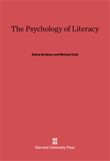 Cover: The Psychology of Literacy