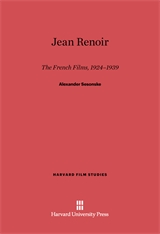 Cover: Jean Renoir: The French Films, 1924–1939