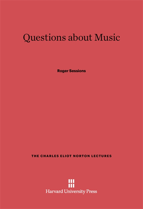 Cover: Questions about Music, from Harvard University Press