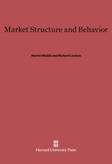 Cover: Market Structure and Behavior