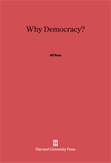 Cover: Why Democracy?