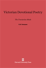 Cover: Victorian Devotional Poetry: The Tractarian Mode