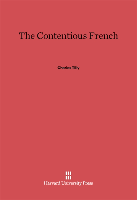 Cover: The Contentious French, from Harvard University Press