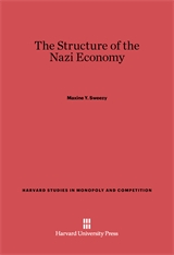 Cover: The Structure of the Nazi Economy in E-DITION
