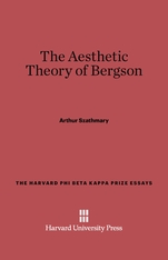 Cover: The Aesthetic Theory of Bergson