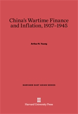 Cover: China's Wartime Finance and Inflation, 1937-1945