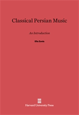 Cover: Classical Persian Music: An Introduction
