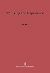 Cover: Thinking and Experience