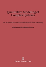 Cover: Qualitative Modeling of Complex Systems: An Introduction to Loop Analysis and Time Averaging