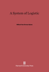 Cover: A System of Logistic