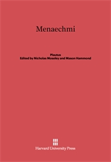 Cover: Menaechmi