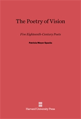 Cover: The Poetry of Vision: Five Eighteenth-Century Poets
