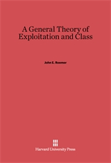 Cover: A General Theory of Exploitation and Class in E-DITION