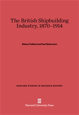 Cover: The British Shipbuilding Industry, 1870–1914