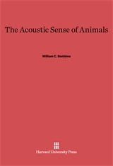 Cover: The Acoustic Sense of Animals in E-DITION