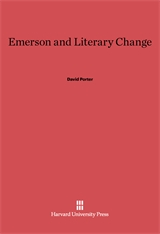 Cover: Emerson and Literary Change