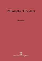 Cover: Philosophy of the Arts