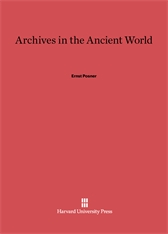 Cover: Archives in the Ancient World