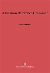 Cover: A Russian Reference Grammar