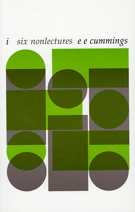 Cover: i: six nonlectures, from Harvard University Press