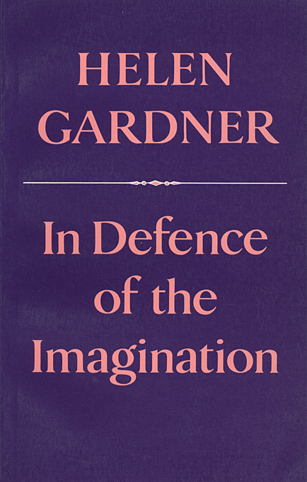 Cover: In Defence of the Imagination, from Harvard University Press