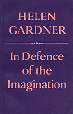 Cover: In Defence of the Imagination in PAPERBACK