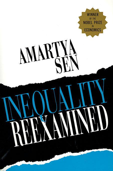 Cover: Inequality Reexamined, from Harvard University Press