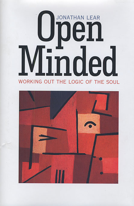 Cover: Open Minded: Working Out the Logic of the Soul, from Harvard University Press