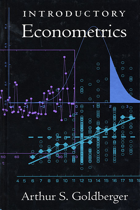 Cover: Introductory Econometrics, from Harvard University Press