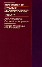 Cover: Introduction to Dynamic Macroeconomic Theory: An Overlapping Generations Approach