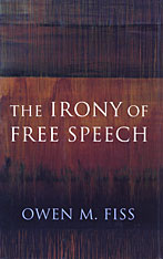 Cover: The Irony of Free Speech in PAPERBACK
