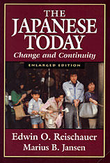 Cover: The Japanese Today: Change and Continuity, Enlarged Edition
