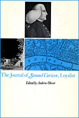 Cover: The Journal of Samuel Curwen, Loyalist: Volumes 1 & 2