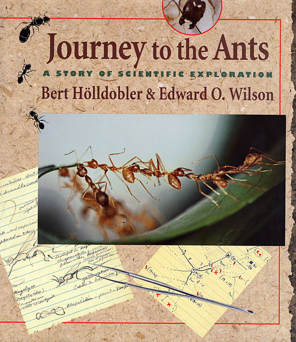 Cover: Journey to the Ants: A Story of Scientific Exploration, from Harvard University Press