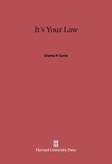 Cover: It's Your Law