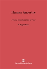 Cover: Human Ancestry from a Genetical Point of View