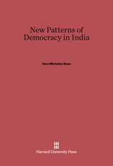 Cover: New Patterns of Democracy in India: Second Edition
