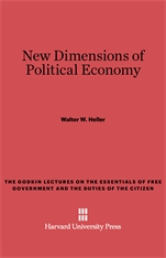 Cover: New Dimensions of Political Economy