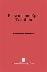 Cover: Beowulf and Epic Tradition