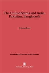 Cover: The United States and India, Pakistan, Bangladesh: Third Edition