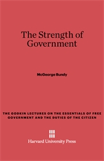 Cover: The Strength of Government