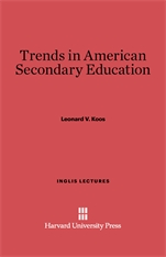 Cover: Trends in American Secondary Education